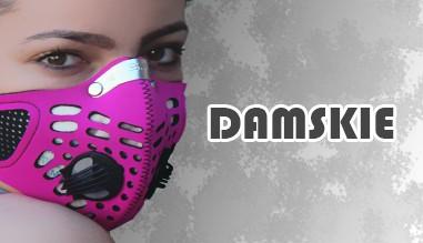 Maski antysmogowe damskie